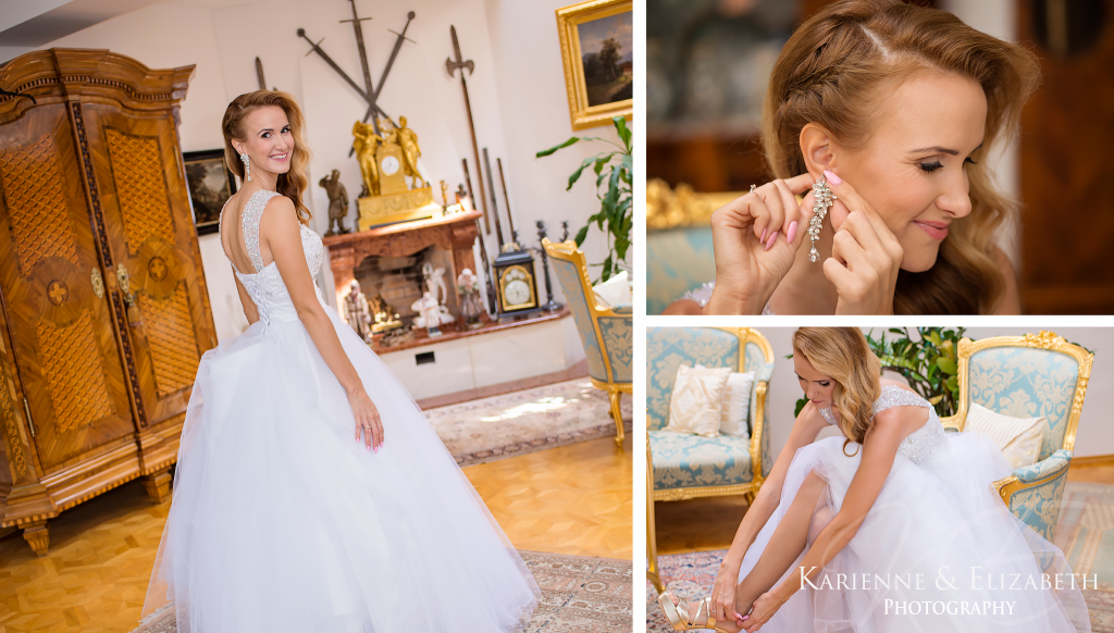 bride Fairytale Summer Wedding Staffordshire Wedding Photographer bridal preparations