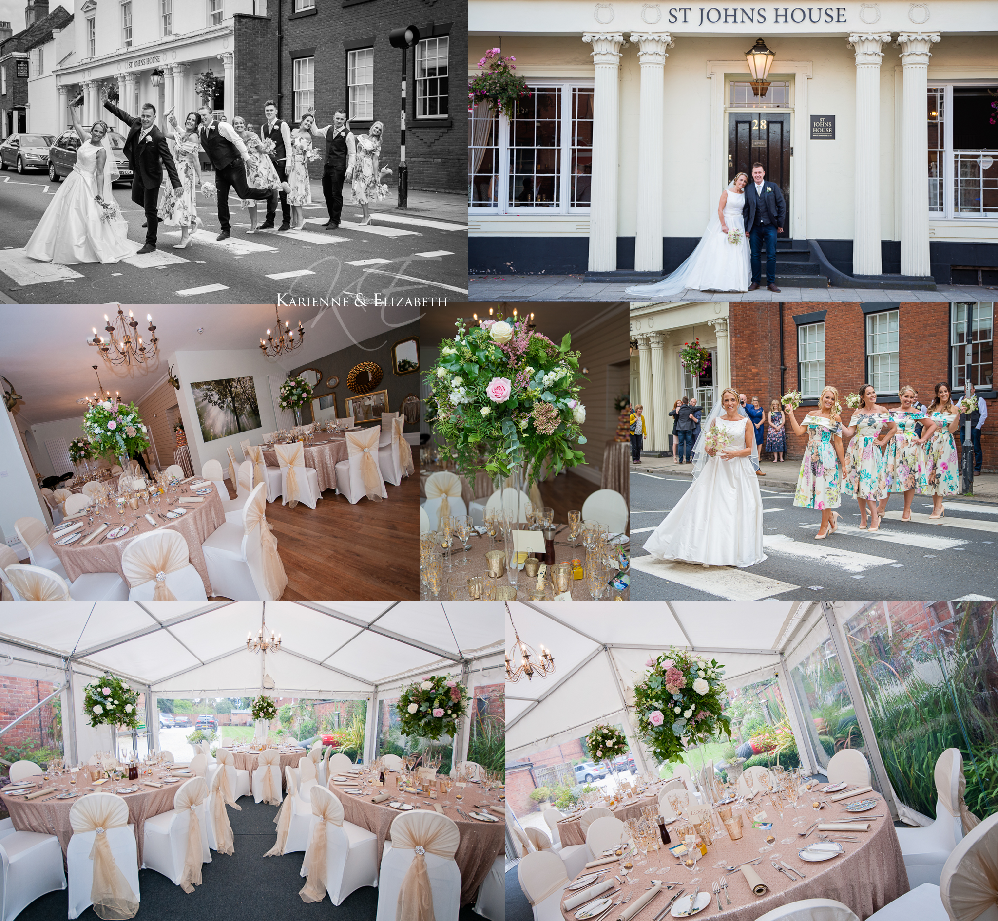 St Johns House wedding venue St Johns House Lichfield