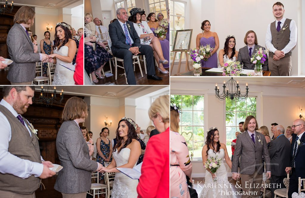 Yeldersley Hall Wedding Photography Staffordshire cheshire shropshire ceremony
