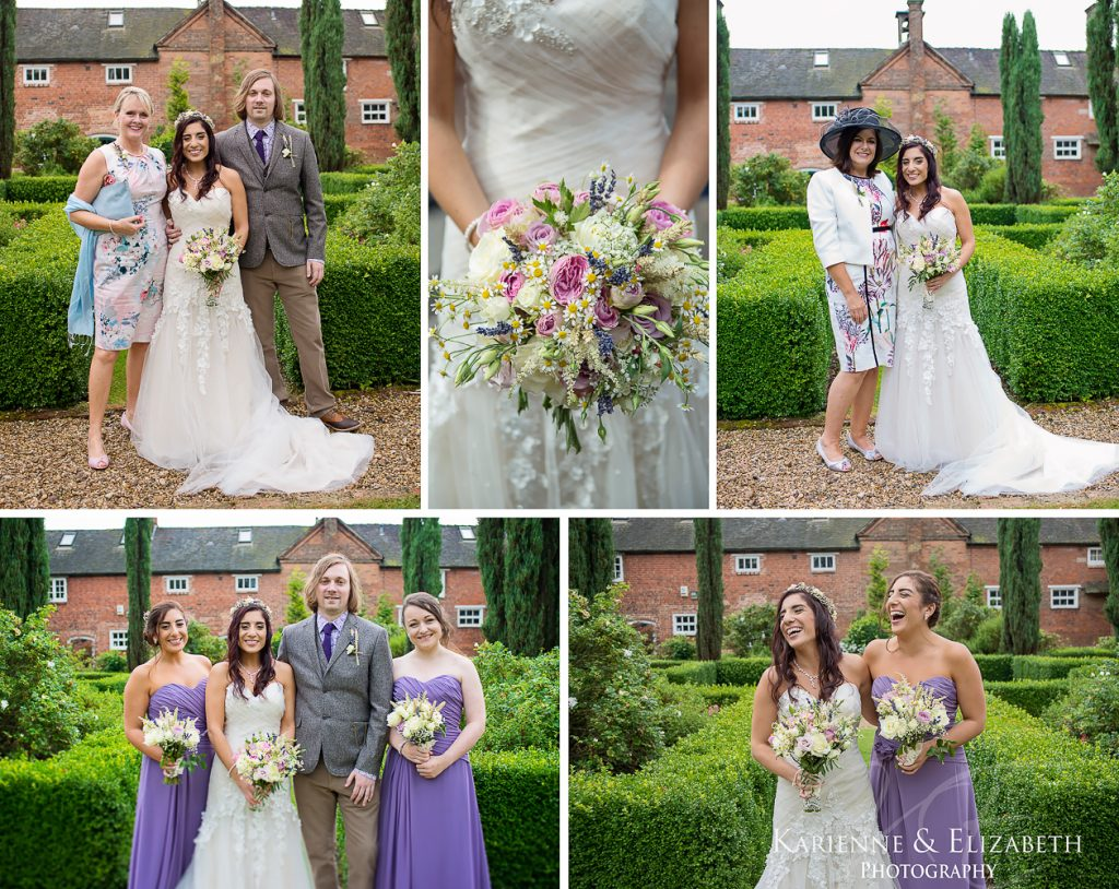 Yeldersley Hall Wedding Photography Staffordshire cheshire shropshire group photos bride groom