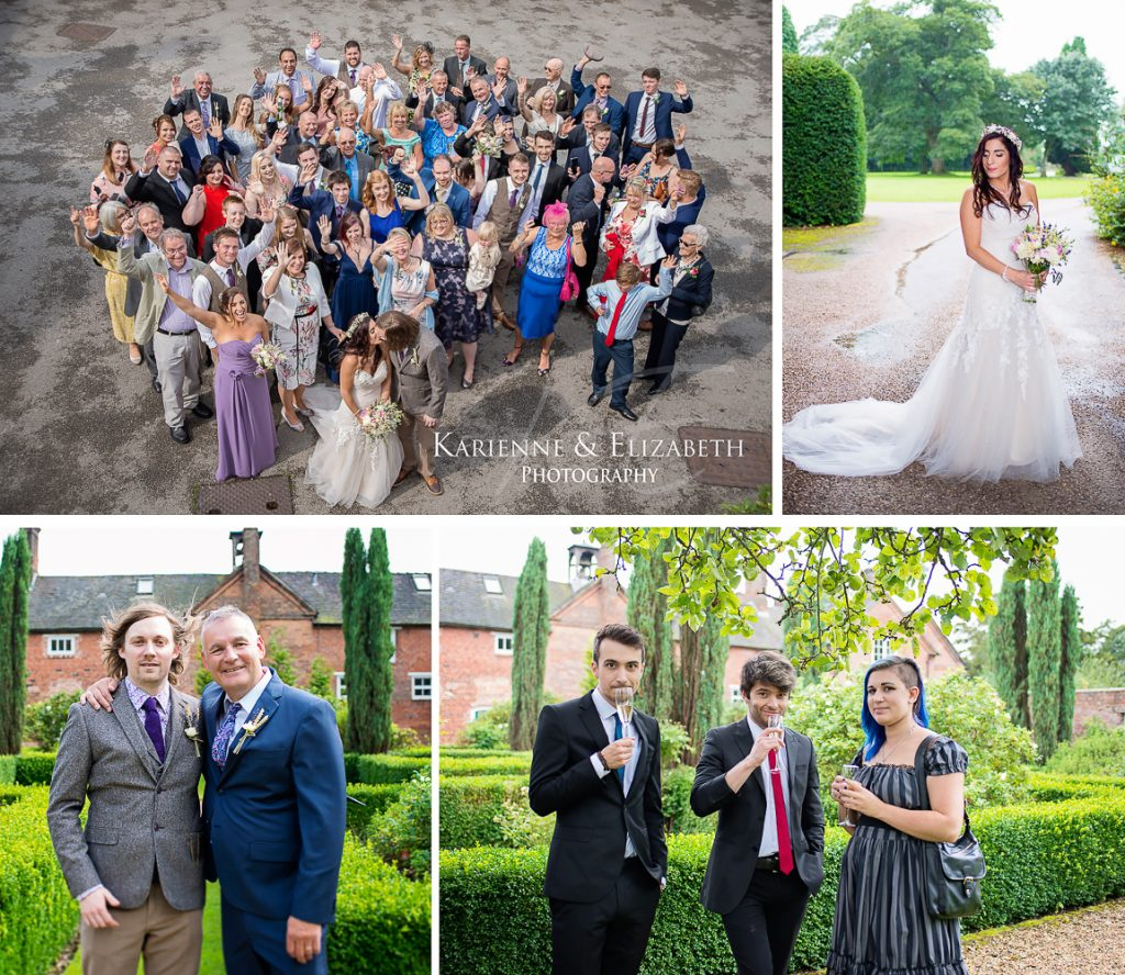 Yeldersley Hall Wedding Photography Staffordshire cheshire shropshire venue reception