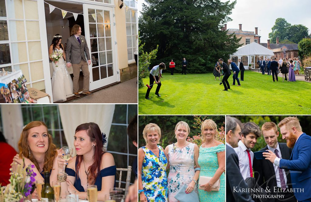 Yeldersley Hall Wedding Photography Staffordshire cheshire shropshire reception