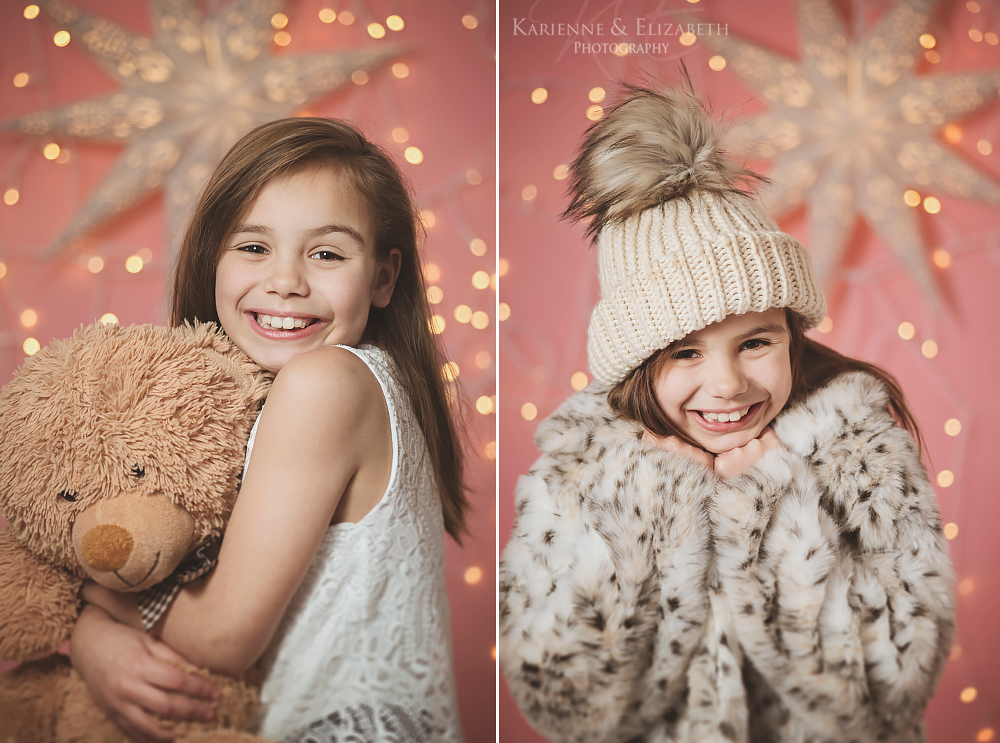 Staffordshire Christmas studio photoshoots