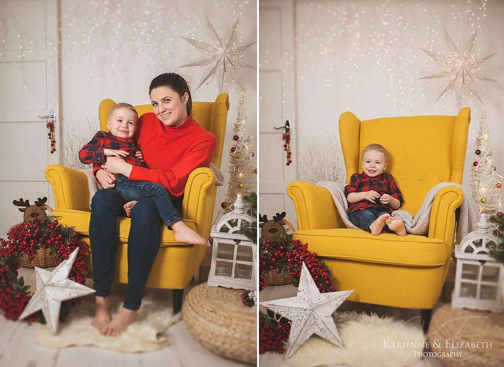 Staffordshire Christmas studio photoshoots