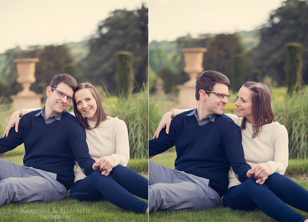 Trentham Gardens Engagement Shoot