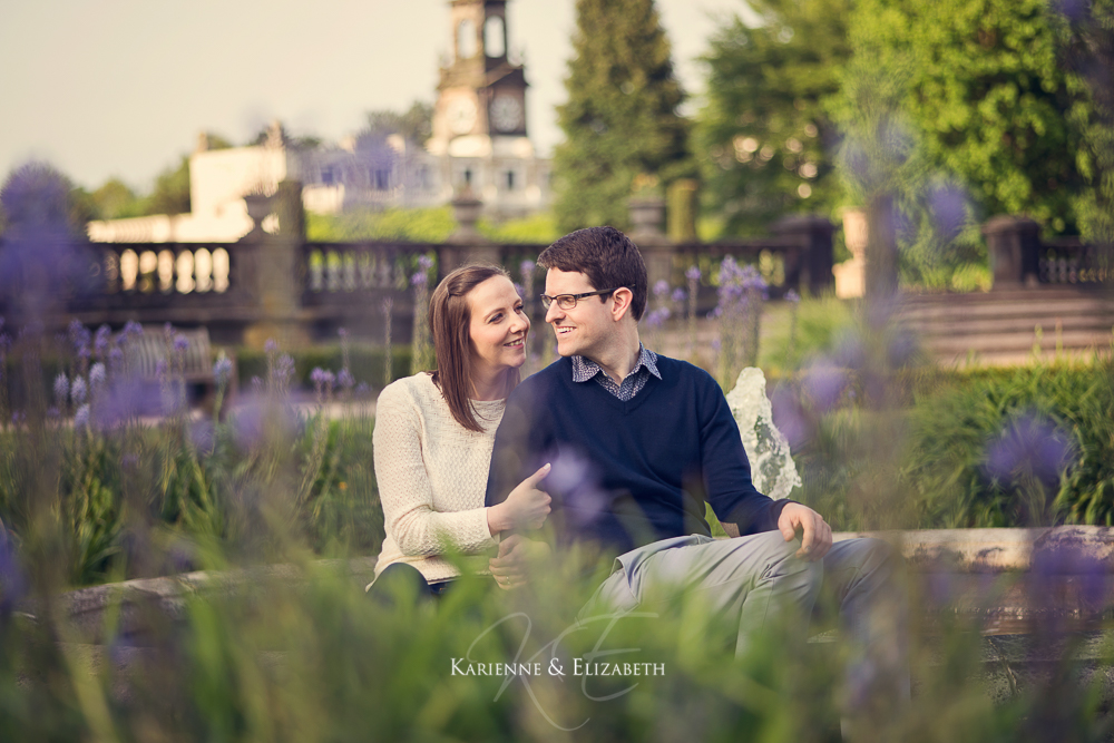 Trentham Gardens Engagement Shoot Staffordshire Wedding Photography