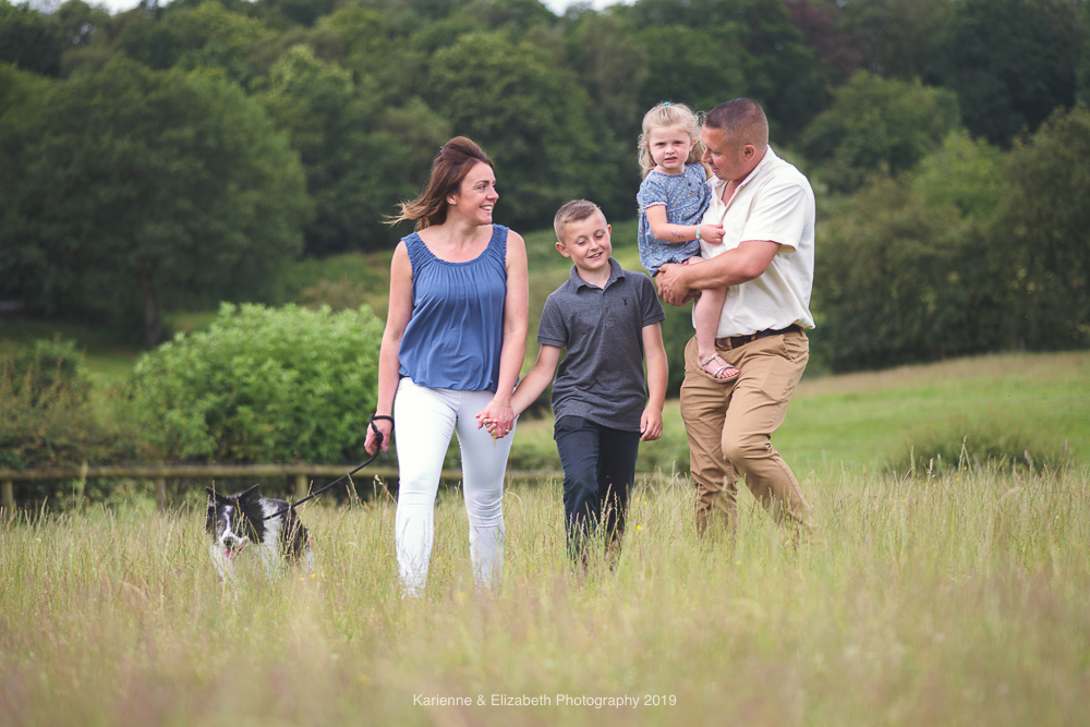 Staffordshire Engagement Session Family outdoor photoshoot Save the date animal farm preceding photoshoot