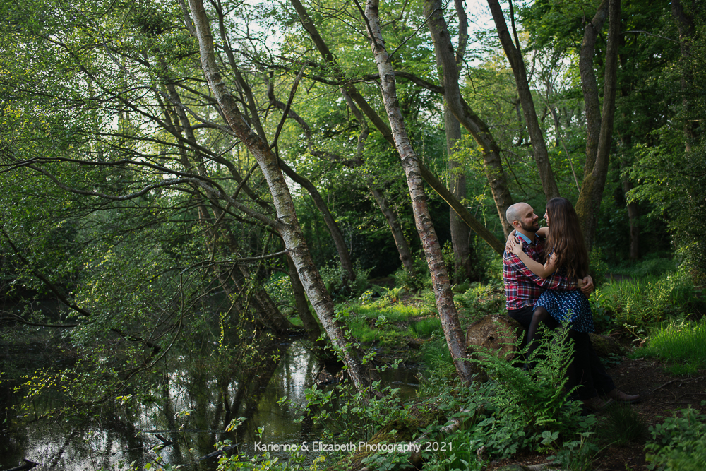 wedding photography forest